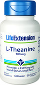 Life Extension, L-Theanine 100 mg 60 Caps