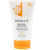 Derma E Very Clear Cleansing Scrub 4 fl oz, Prevent Breakouts
