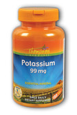 Potassium 99 mg 180 Tabs, Thompson Essential Mineral