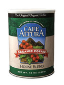 House Blend Ground Coffee 12 oz Cafe Altura