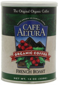 French Roast Ground Coffee 12 oz Cafe Altura