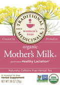 Mother's Milk Tea 16 Bags Traditional Medicinals, Healthy Lactation
