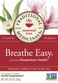 Breathe Easy Tea 16 Bags, Traditional Medicinals, Respiratory
