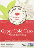 Gypsy Cold Care Tea 16 Bags, Traditional Medicinals Teas