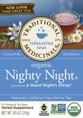 Nighty Night Tea 16 Bags, Traditional Medicinals Teas, Relaxation
