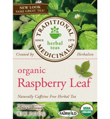 Organic Raspberry Leaf Tea 16 Bags, Traditional Medicinals Teas
