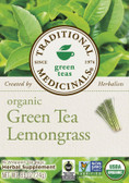 Green Tea Lemongrass 16 Bags Traditional Medicinal Teas