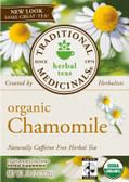 Organic Chamomile Tea 16 Bags, Traditional Medicinals Teas