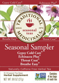 Cold Season Herb Tea Sampler 16 Bags Traditional Medicinals Teas
