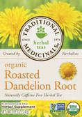 Dandelion Root 16 Bags Traditional Medicinals, Liver Function