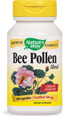 Bee Pollen Blend 100 Caps, Nature's Way, For Athletes