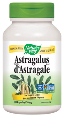 Astragalus 100 Caps Nature's Way, Immune Support