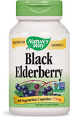 Elderberry 100 Caps Nature's Way, Cold, Flu