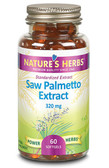 Nature's Herbs Saw Palmetto Extract 320 mg 60 Softgels