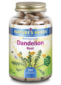 Nature's Herbs Dandelion Root 100 Caps, Kidney, Liver Support