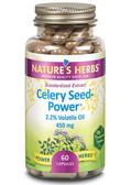 Nature's Herbs Celery Seed-Power 450 mg 60 Caps
