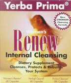 Woman's Renew Internal Cleanse 1 BOX Yerba Prima