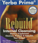 Men's Rebuild Internal Cleanse Yerba Prima, Cleanses, Protects & Rebuilds
