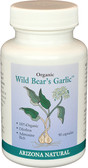Arizona Natural Products Wild Bear Organic Garlic 90 Caps