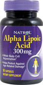 Alpha Lipoic Acid 300 mg 50 Caps, Natrol