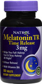Melatonin 3 mg Time Release 100 Tabs, Natrol