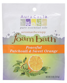Aura Cacia Peaceful Patchouli/Sweet Orange Aromatherapy Foam Bath 2.5