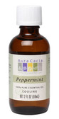 Aura Cacia Peppermint 100% Pure Essential Oil 2 oz bottle