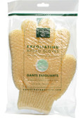 Exfoliating Hydro Gloves-Natural, Earth Therapeutics, Skin Cleansing