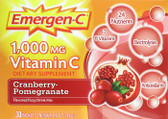 Emer'gen-C Health & Energy Cranberry Pomegranate 30 Pkt Alacer, Antioxidants