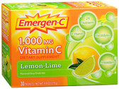 Emer'gen-C Lemon-Lime 30 Packets Alacer, Immune, Energy Booster