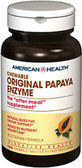 Papaya Enzyme Original Chewable 100 Tabs American Health, Digestion