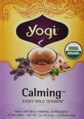 Calming Tea 16 Bags, Yogi Teas, Stress Relief