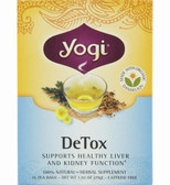 Detox Tea 16 Bags Yogi Teas, with Dandelion, Liver Kidney Cleansing