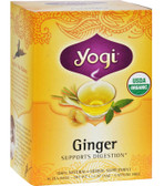 Ginger Tea 16 Bags, Yogi Teas