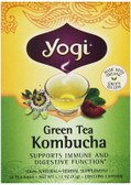 Green Tea Kombucha 16 Bags, Yogi Teas