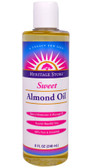 Sweet Almond Oil 8 oz, Heritage, Skin Lotion, Massage Oil