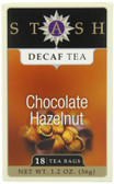 Chocolate Hazelnut Tea Decaf 18 ct Stash Tea