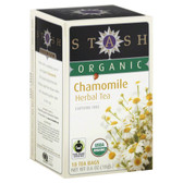 Organic Chamomile Herbal Tea 18 ct Stash Tea