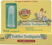 Earth's Best Toddler Toothpaste Strawberry & Banana 1.6 oz