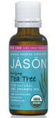 Jason Organic Tea Tree Oil 1 oz, Cuts, Stings, Burns