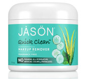 Quick Clean Makeup Remover 75 pads, Jason All Skin Types