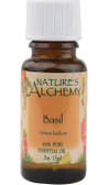 Essential Oil Basil .5 oz Nature's Alchemy