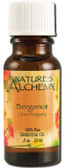Essential Oil Bergamot .5 oz Nature's Alchemy
