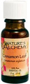 Essential Oil Cinnamon Leaf .5 oz Nature's Alchemy