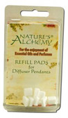 Diffuser Necklace Refill Pads 10ct, Nature's Alchemy