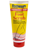 Footherapy Cranberry Mint Scrub 7 oz, Queen Helene