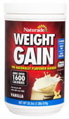 Weight Gain 1500 Vanilla 16.9 oz Naturade