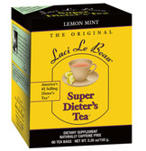 Super Dieter's Tea Lemon Mint 60 Bags Laci Le Beau