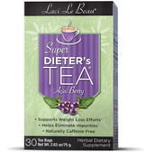 Laci Le Beau Super Dieter's Tea Acai Berry 30 bags, Diet, Cleansing