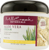 80% Aloe Vera Cream 4 oz, Mill Creek Botanicals
